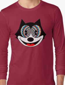 trippy felix Long Sleeve T-Shirt