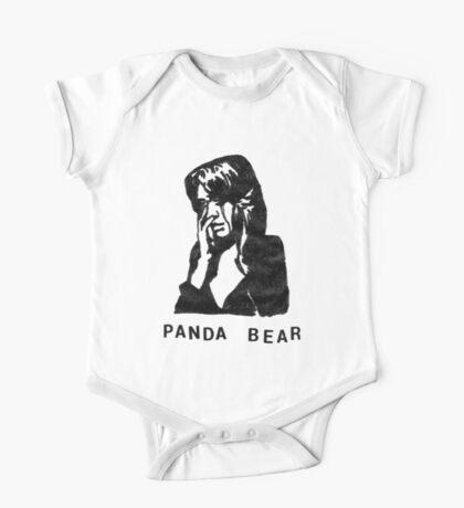 Panda Bear (Tomboy) One Piece - Short Sleeve