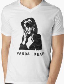 Panda Bear (Tomboy) Mens V-Neck T-Shirt
