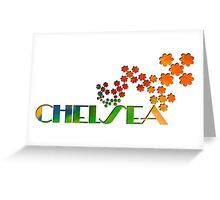 The Name Game - Chelsea Greeting Card
