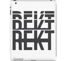 GET REKT PHASED iPad Case/Skin