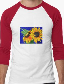Sunflower Sister 2nd part Men's Baseball ¾ T-Shirt