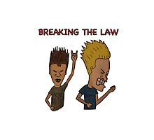 Breaking Beavis Photographic Print