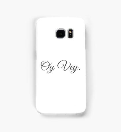 Oy Vey Fancy Samsung Galaxy Case/Skin