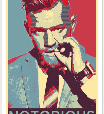 The Notorious Conor McGregor Sticker