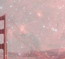 Stardust Covering San Francisco Sticker