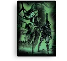 Metal Gear Solid (1 of 10) Canvas Print