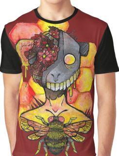honey bee.  Graphic T-Shirt