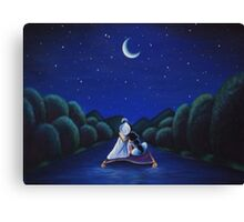 Whole new world Canvas Print