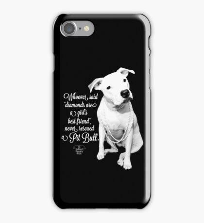 Girls Best Friend Rescued Pit Bull iPhone Case/Skin