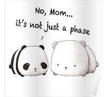 Emo Panda Poster