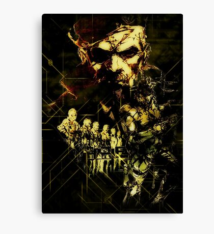 Metal Gear Solid (2 of 10) Canvas Print
