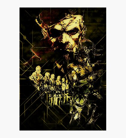 Metal Gear Solid (2 of 10) Photographic Print