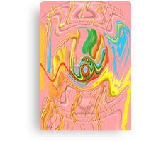"""Drippy Flux"" Canvas Print"