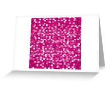 Pixel Greeting Card