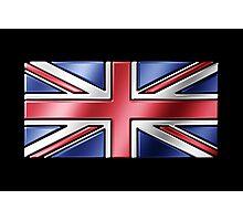 British Union Jack Flag 2 - UK - Metallic Photographic Print