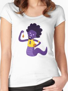 Afro Mamba Women's Fitted Scoop T-Shirt