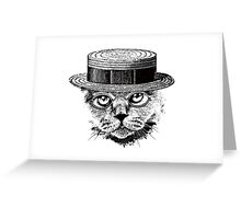 The Most Interesting Cat In The Hat Greeting Card