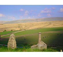 Dartmoor Mine Photographic Print