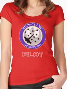 Star Squadron Women's Fitted Scoop T-Shirt
