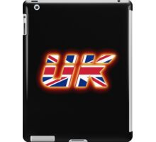 UK - Flag Logo - Glowing iPad Case/Skin