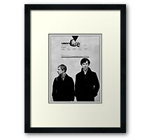 Visionary Duo Framed Print