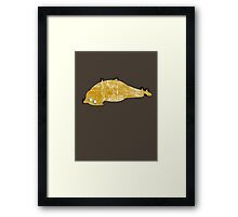 Digicats: Cookie Framed Print