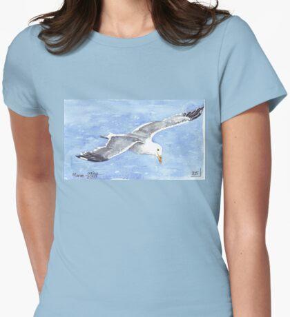 Jonathan Livingstone Seagull Womens Fitted T-Shirt
