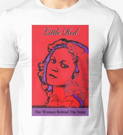 Mi-Ling - Little Red - Pop Art by Moises Suriel Unisex T-Shirt