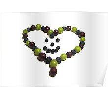 Berry Nice Heart Poster
