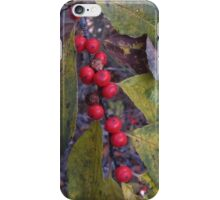 Berry Red iPhone Case/Skin