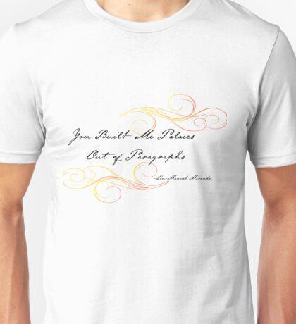 Burn Lyrics Unisex T-Shirt