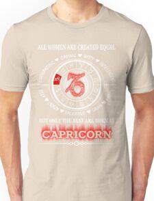 The best Capricorn Woman Unisex T-Shirt