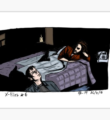 X-Files - Bed Sticker
