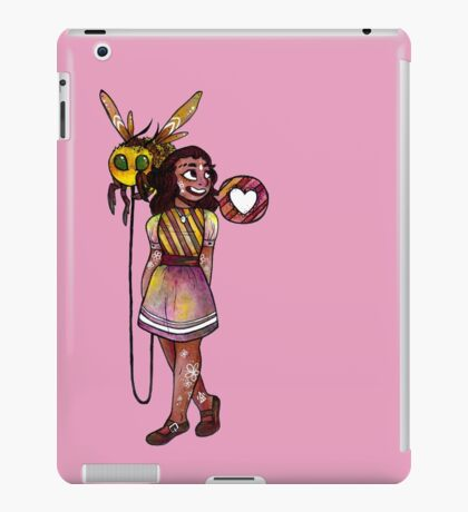 lovely little bumble bee. iPad Case/Skin