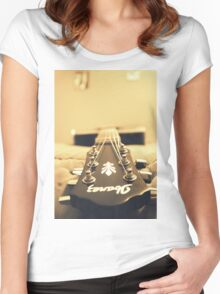 Ibanez in Sepia  Women's Fitted Scoop T-Shirt