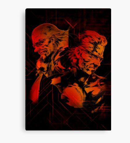Metal Gear Solid (7 of 10) Canvas Print