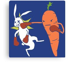 Carrot Knockout Canvas Print