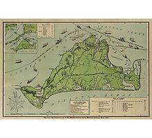 Martha's Vineyard 1913 Photographic Print