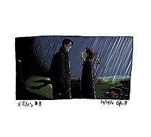 X-Files - Rain Photographic Print