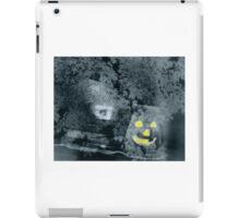 Jolly Jack O' Lantern Says Happy Halloween iPad Case/Skin