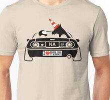 Miata Club of Hawaii NA Autocross Unicorn WTF!? Unisex T-Shirt