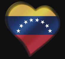 Venezuelan Flag - Venezuela - Heart by graphix