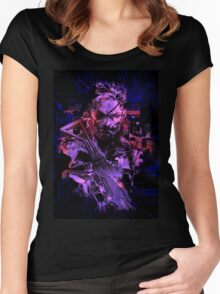 Metal Gear Solid (9 of 10) Women's Fitted Scoop T-Shirt