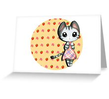 Lolly  Greeting Card
