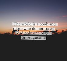 The world is a book by Margotte