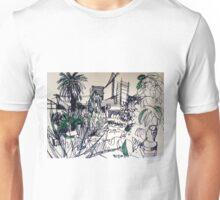 Back Yard, Raleigh Street, Footscray Unisex T-Shirt