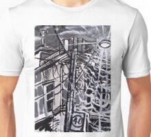 Streetlight Energy in Yarraville Sketch Unisex T-Shirt