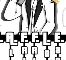 W.A.F.F.L.E.O Sticker