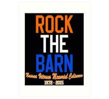 Rock the Barn!  Art Print
